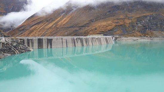 Hochgebirgsstauseen: the upper dam