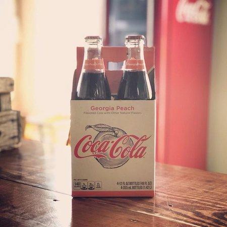 Royston, GA: Georgia Peach Coca-Cola. Need we say more?