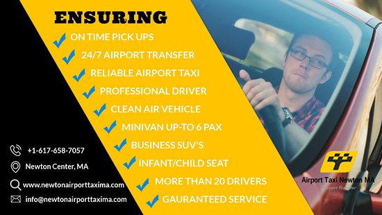 Airport Taxi Newton MA: Airport Taxi Newton MA