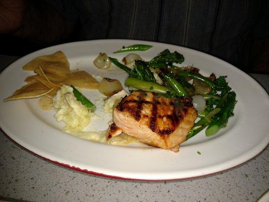 The Arrogant Butcher: Salmon, veggies