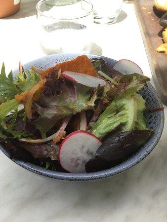 Mount Tomah, Australia: Side salad at The Potager @ Mt Tomah Botanic Gardens