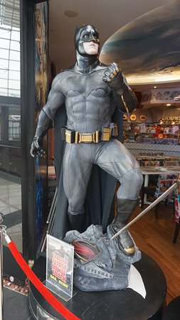 Ones of many Justice Leagues Statues