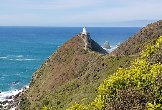 Millers Flat, Neuseeland: Walk to the lighthouse