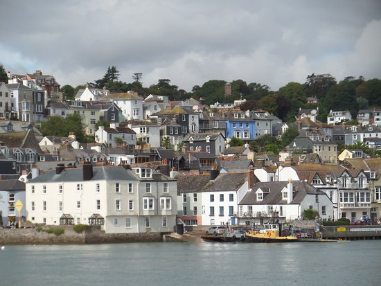 Dartmouth from the river boat