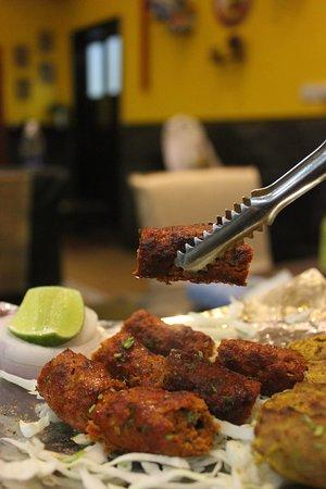 Jebel Ali, Émirats arabes unis : Mutton Seekh Kebab