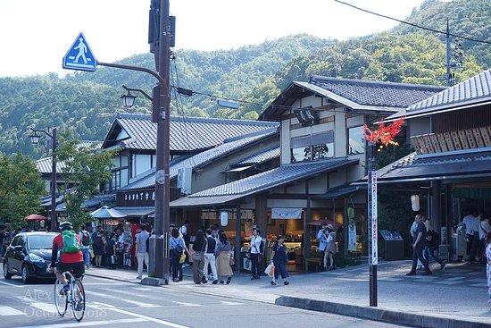 Arashiyama is overrun by tourists