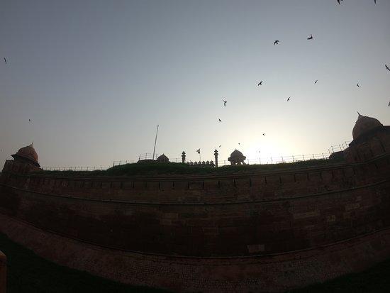 Tour en bicicleta por la vieja Delhi: Red fort