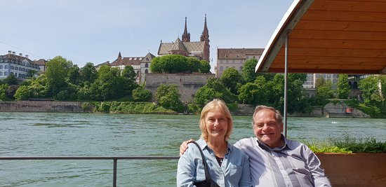 Canton of Basel, Sveits: We love our happy couple during Basel City discovery