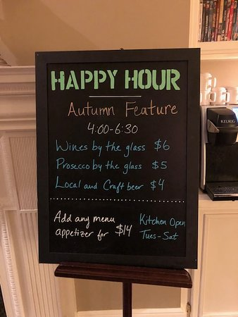 Happy Hour features
