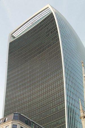 Rascacielos donde se encuentra el Sky Garden