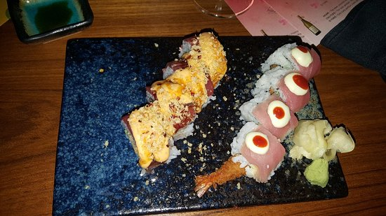 Best surf and turf sushi ever.....
