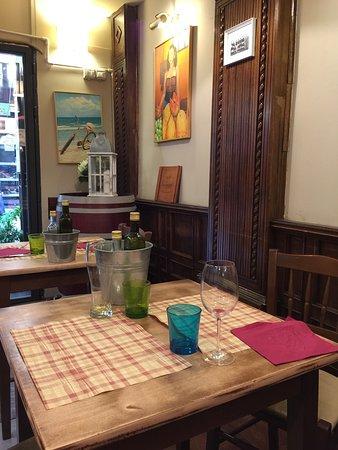 Il Borghetto Ristorante: Comedor.