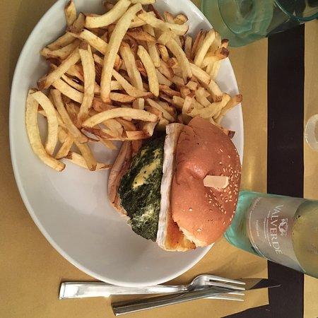 Un hamburger davvero delizioso