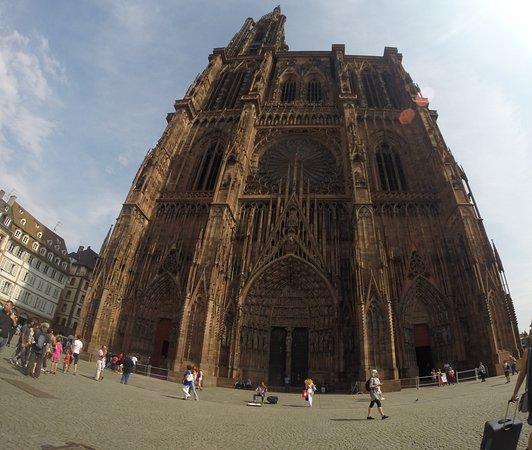 Cathédrale Notre-Dame de Strasbourg : Frente