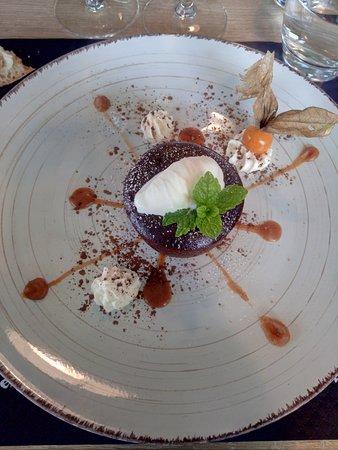 Thouarcé, France : le dessert