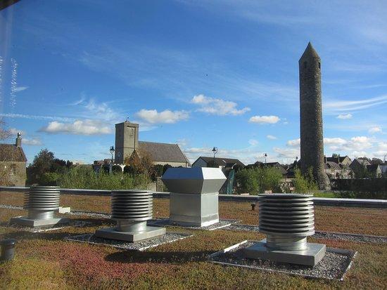 Clondalkin, Irlanda: Blick aus dem Besucherzentrum
