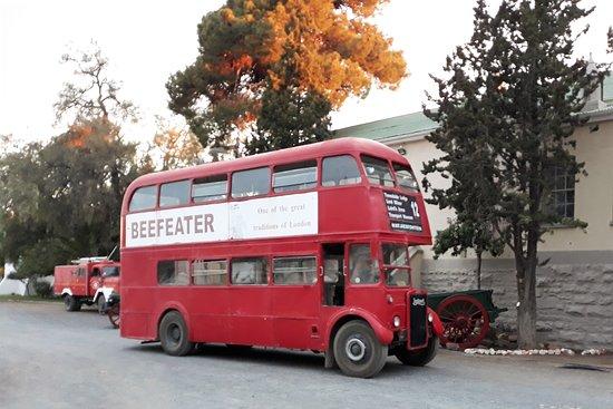 Matjiesfontein, Sør-Afrika: The 1958 London tour bus