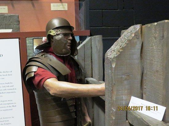 Римлянин защищает форт
