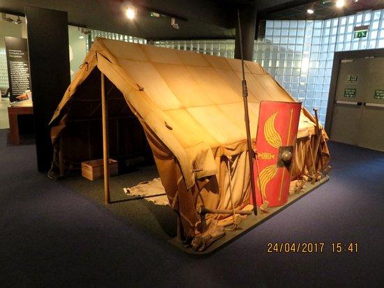 Палатка римских кавалеристов