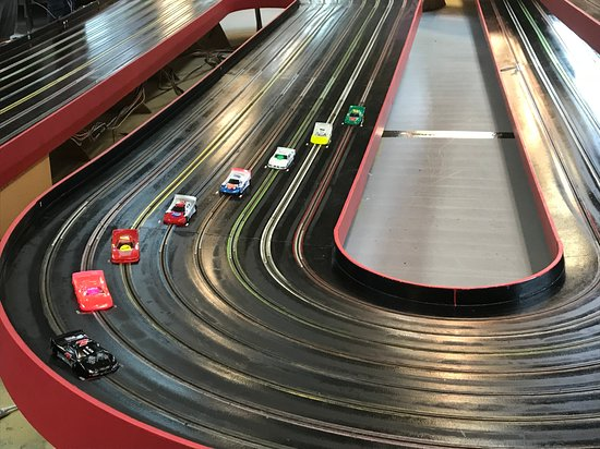 The Checkered Flag Slot Car Raceway