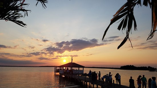 Fager's Island: Amazing sunset views