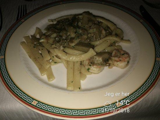 Il Ristorante Zairo : Pasta with shrimps and artichokes. Very tasteful.