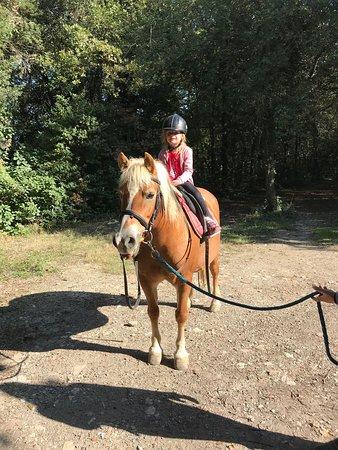 Borgo Pignano Horseback Riding: großes Glück hoch zu Ross