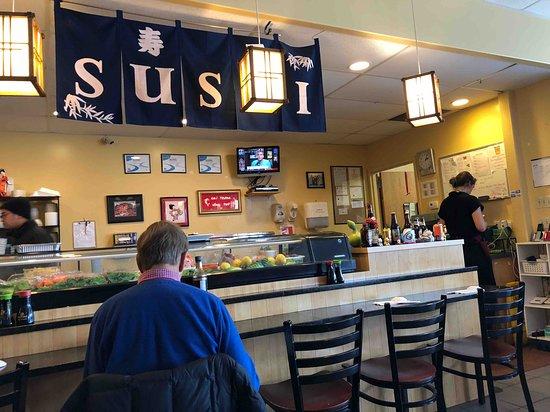Brewer, Maine: sushi bar