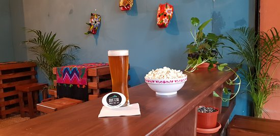 Beer & popcorn anyone?