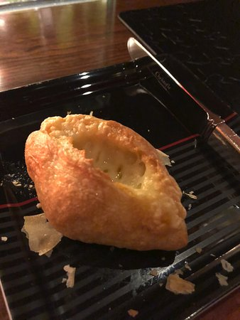 Delicious cheese bread