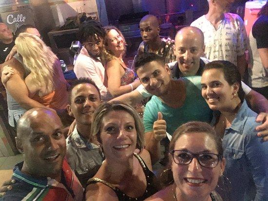 Friendly Cuba Voyage: dernière soirée de notre voyage,amusante,émouvante, et au revoir très difficile