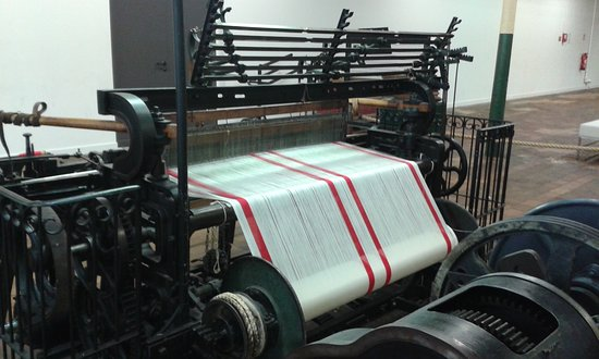 Fourmies, França: machine à tisser