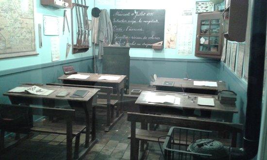 Fourmies, França: ancienne salle de classe