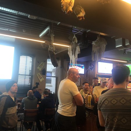 Great sports bar
