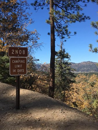 Big Bear Lake, CA: End of the trail but more trails to ride