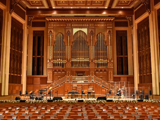 Royal Opera House : Bühne mit Orgel