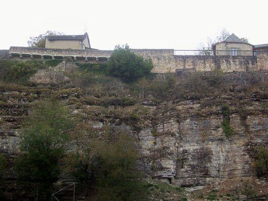 Bozouls, Frankreich: En bas