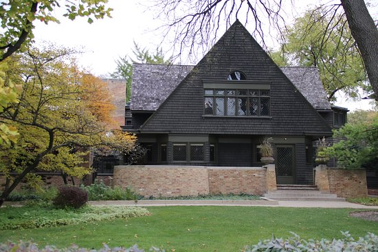 Frank Lloyd Wright's Robie House: Front of house