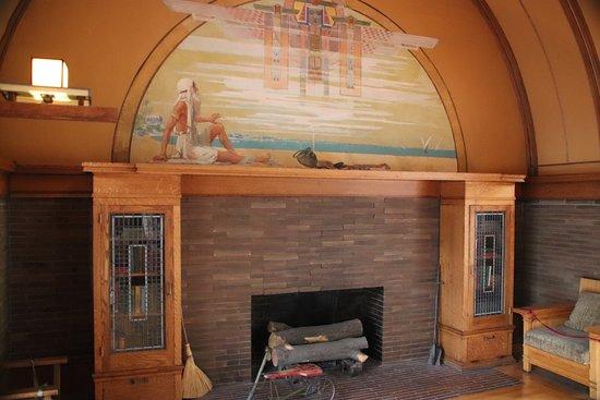 Frank Lloyd Wright's Robie House: Children's room