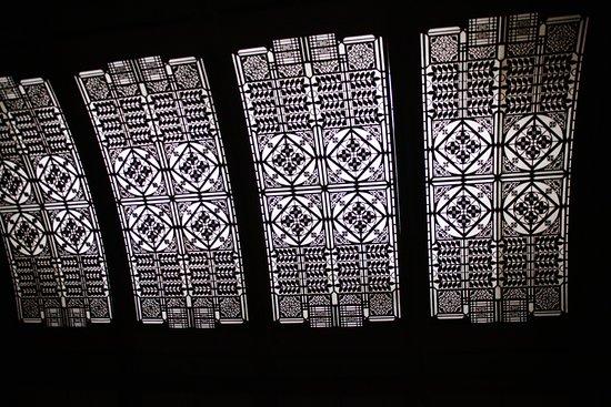 Frank Lloyd Wright's Robie House: Ceiling