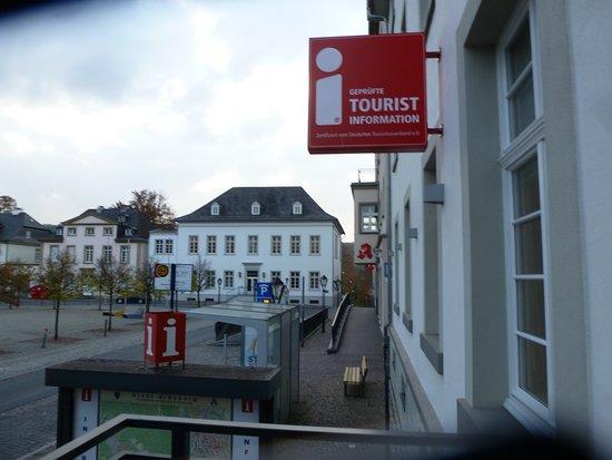 In der Touristen Information vom historischen Arnsberg.