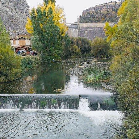 Cascada En El Patio Interior Picture Of El Rincon De Las Hoces Burgomillodo Tripadvisor