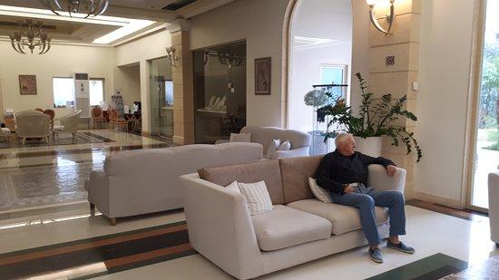 Lindos Imperial Resort & Spa: PIEKNE LOBBY