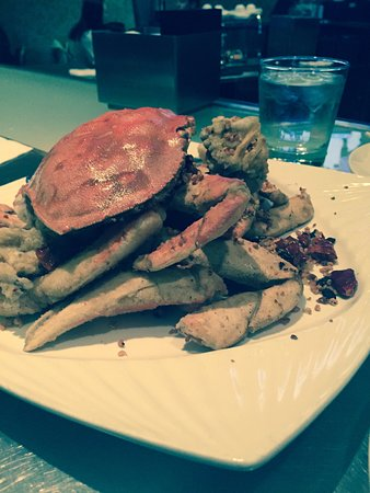 Hakkasan San Francisco: Crab entree -couldnt recall the name