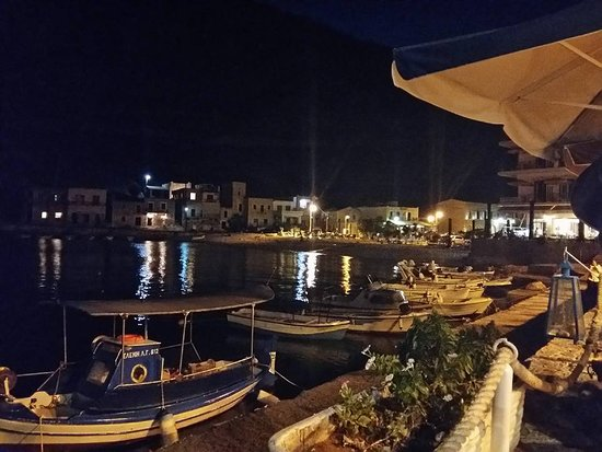 Gerolimenas, Grekland: ...απίστευτη θέα...