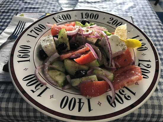 Renfrew, Canada: Traditional Greek salad