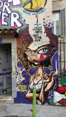 Pour les amoureux de street art !