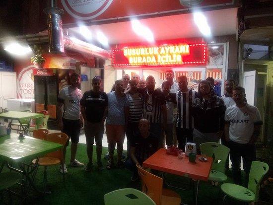 Susurluk, Tyrkia: Altay spor Taraftarları misafirimiz
