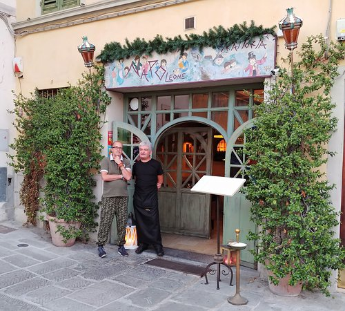 Trattoria Napoleone: Owner and Chef. Nice guys! - Picture of ...