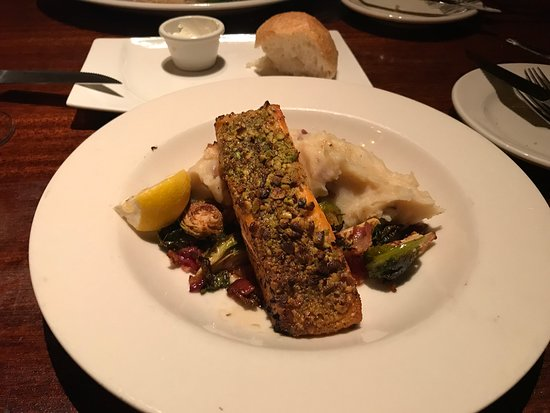 The Salmon Fish was very good